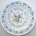 1 Birthday plate