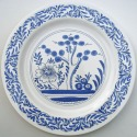 15 Delft Chinoiserie plate
