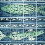 2 Fish tile panels