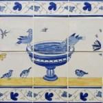 7 Bird tile panels