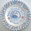 8 New baby plate