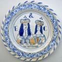 9 Anniversary plate