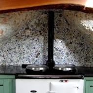 Aga tiles and mosaics