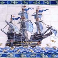 Bahamas ship tile panel