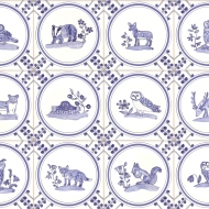 British wildlife tiles