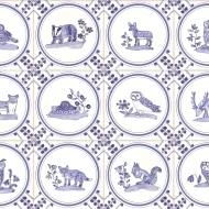 British wildlife tiles
