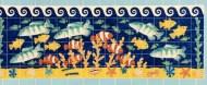 Clown fish tile panel