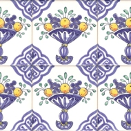 Delft Fruit tiles