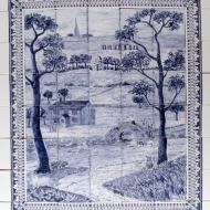 Delft landscape tiles
