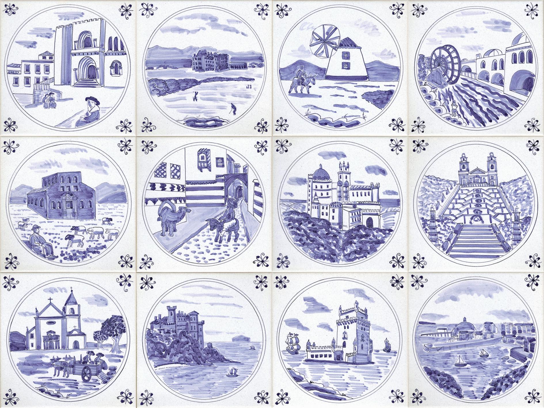 Gallery 4 Delft Tiles Reptile Tiles