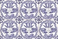 Delft Flower tiles