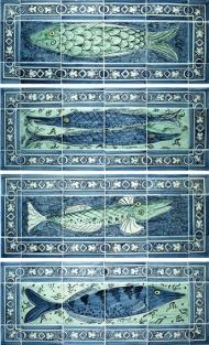 Four Fishy panels