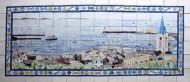 Guernsey tile panel