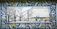 Sloane Square tile panel