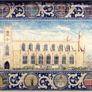 St Lukes Tile panel, King's Road