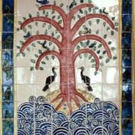 Tree of life tile panel