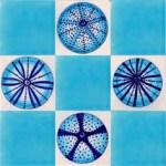 Urchin tiles