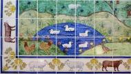 Waitrose animal tile panel