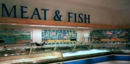 Waitrose fish and meat tile panels