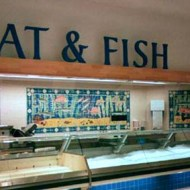 Waitrose fish and meat tile panels