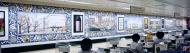 Waitrose King's Road tile panels