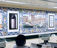 Waitrose King's Road tile panels