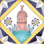 Tower tile 24