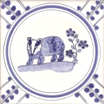 1 Badger tile