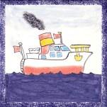 Boat tile 10