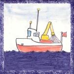 Boat tile 12