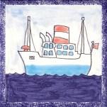Boat tile 14