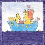 Boat tile 17