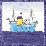 Boat tile 5