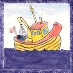 Boat tile 9