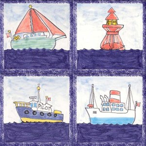 Boat tiles
