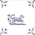 Delft Animal tile 11