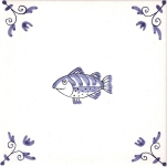 Delft Animal tile 19