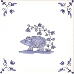 Delft Animal tile 7