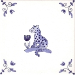 Delft Animal tile 9