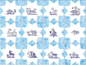 Delft Animal tiles