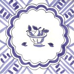 Fruit & Flowers Tile 1