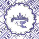 Fruitt & Flowers Tile 10