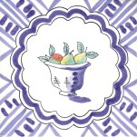 Fruit & Flowers Tile 19