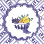 Fruit & Flowers Tile 21