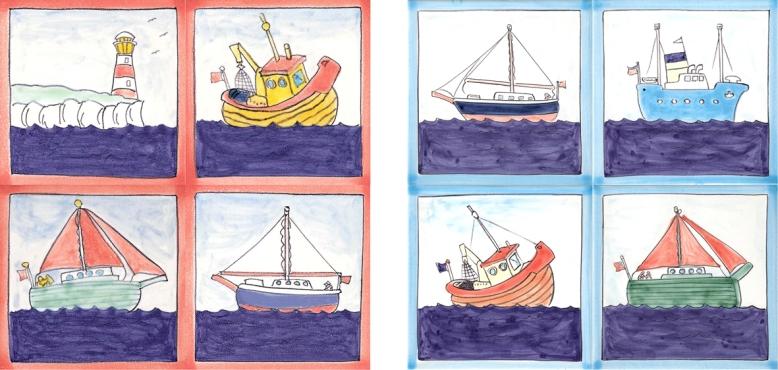 Nautical tiles
