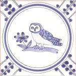 16 Owl 4 tile