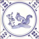 15 Squirrel tile