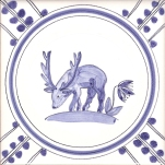 18 Stag tile