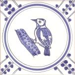 14 Woodpecker tile
