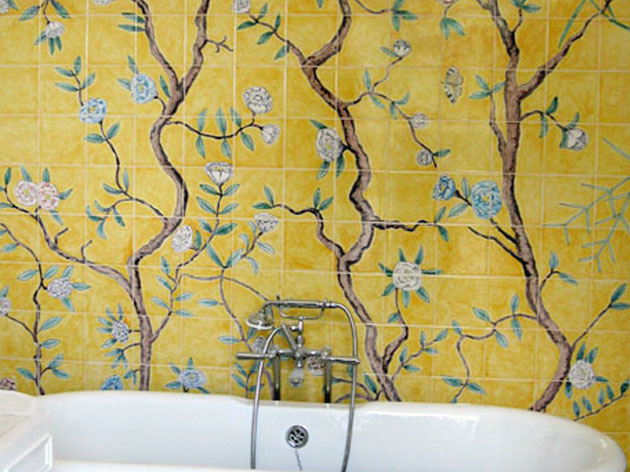 Chinese wallpaper tiles
